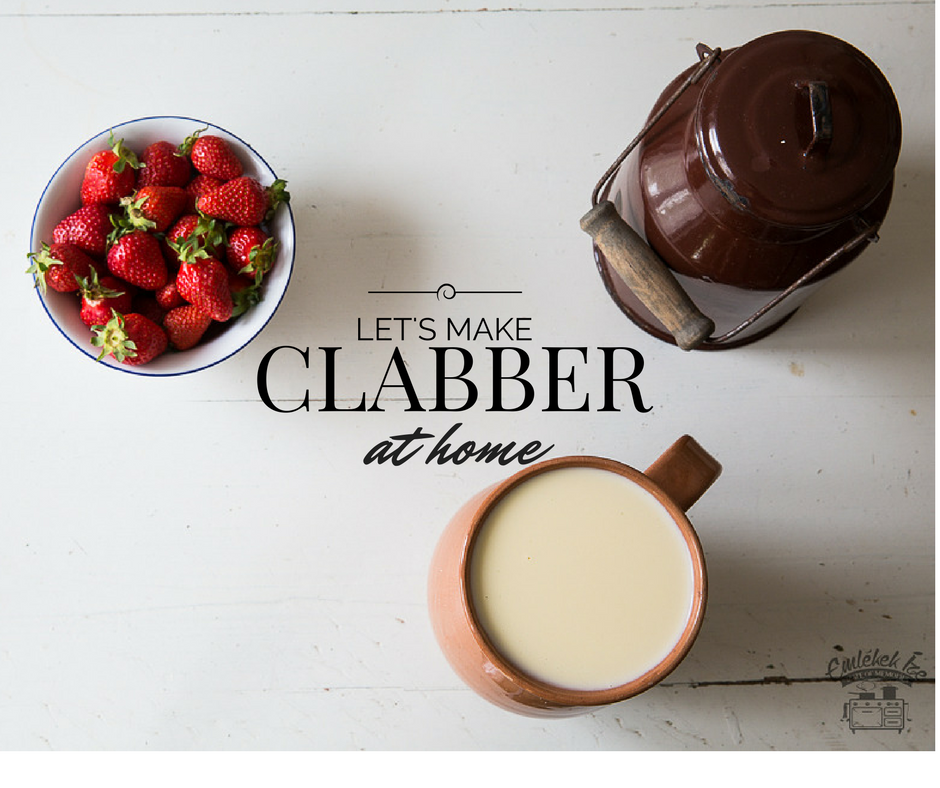 clabber at home from the Taste of Memories countryside kitchen