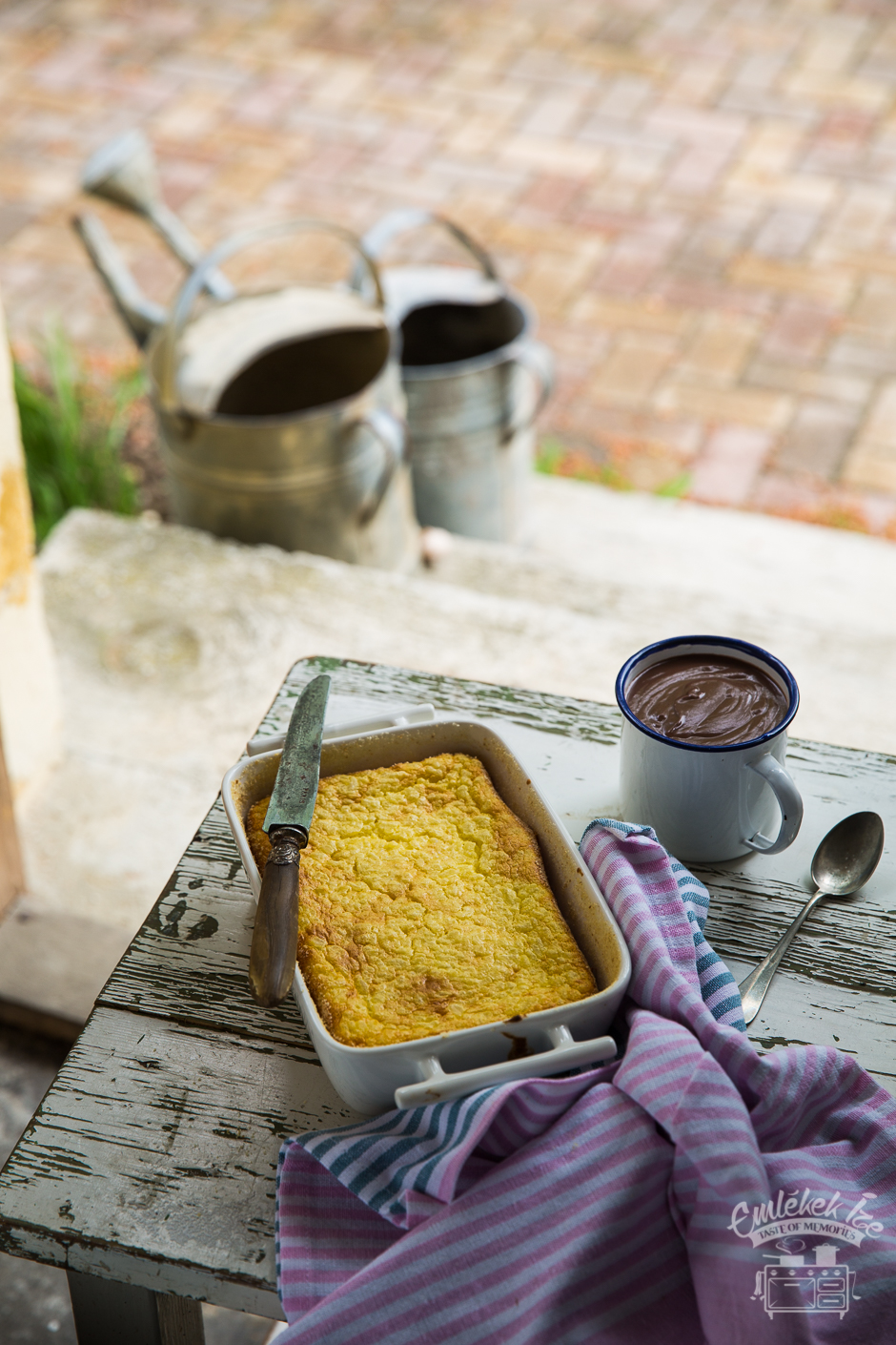 Hungarian rice soufflé according from the Taste of Memories countryside kitchen