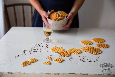 Hungarian cheese wafers according to my grandmother's recipe www.taste-of-memories.com