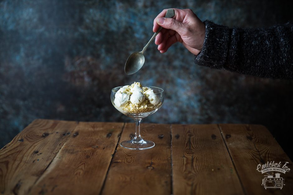 chestnut puree with whipped cream from the Taste of Memories countryside kitchen