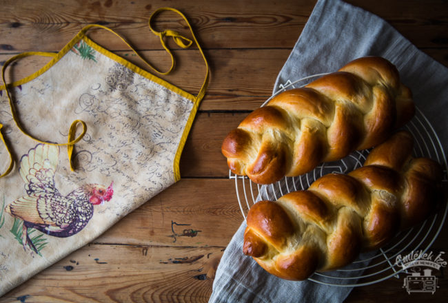 fonott kalács/challah from the Taste of Memories countryside kitchen