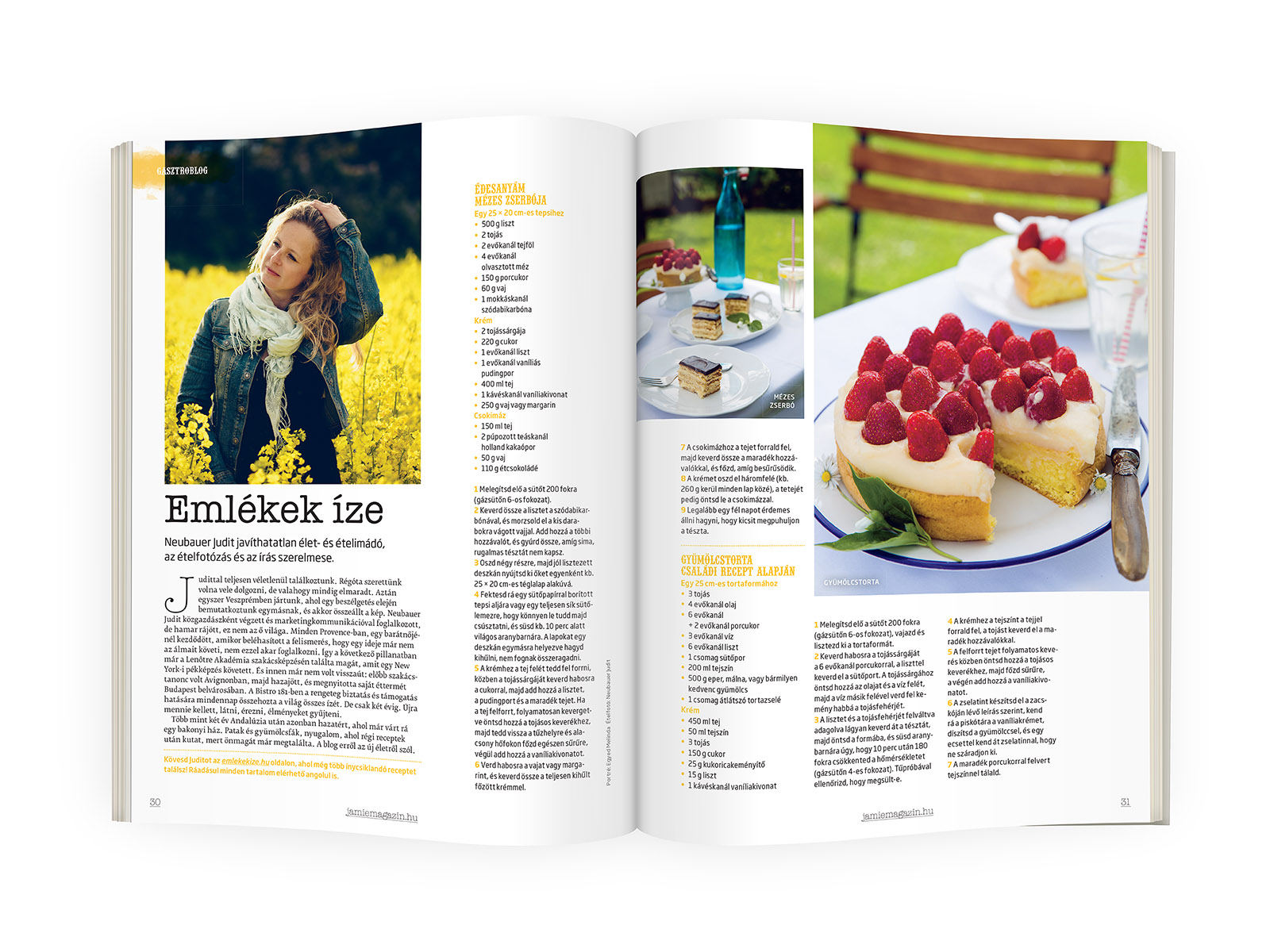 Jamie Oliver Magazin-Emlékek Íze